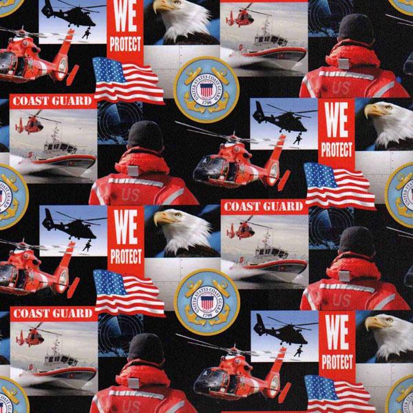 Cotton United States Of America Coast Guard Usa Patriotic
