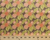 Cotton Peaches Peach Orchard Blossoms Flowers Fruit Food Garden Kitchen Mirabelle Fig Tree Quilts Cotton Fabric Print by the Yard (20221-18)