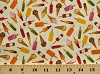 Cotton Ice Cream Cones Popsicles Ice Pops Icecream Summer Food Desserts Fruit and Ice Ice Cream Scatter Cotton Fabric Print by the Yard (363-q)