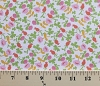 Briar Rose Jersey Flowers Buds Cotton Jersey Knit Fabric by the Yard (37027j-6)