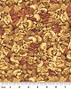 Kanvas Snack Attack Cashews Nuts Natural Cotton Fabric Print (05770-77)
