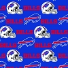 Buffalo Bills NFL Pro Sports Team Football Cotton Fabric Print