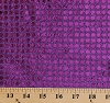 Purple Sequins on Purple Polyester/Mylar 60