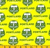Cotton Portland Timbers MLS Soccer Cotton Fabric Print by the Yard