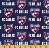 Cotton FC Dallas Toros MLS Soccer Cotton Fabric Print