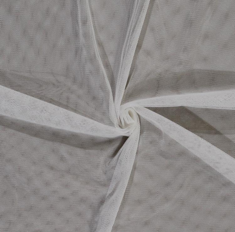 ivory english netting polyester mesh net fabricthe yard (ivory