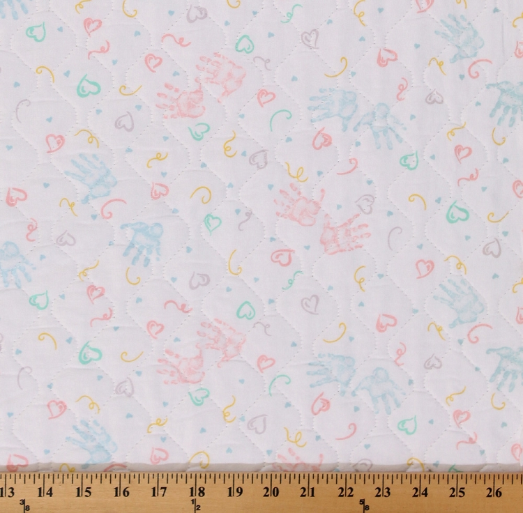 Single-face Pre-quilted Baby Pastel with Polyester Nylon Tricot ... : nylon quilted fabric - Adamdwight.com