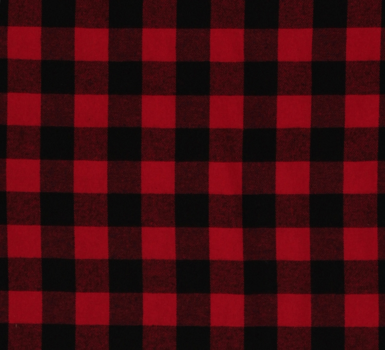 Flannel Buffalo Plaid 1 25 Quot Buffalo Check Red Black Woven
