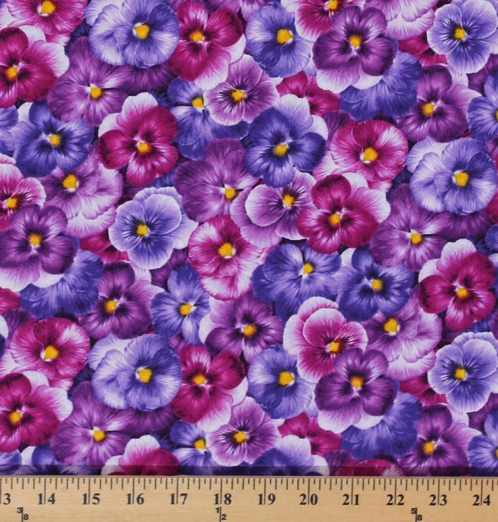 New Light Blue Rose Flowers 100 Cotton Fabric Whole Poplin Fl Printed 2 Yards