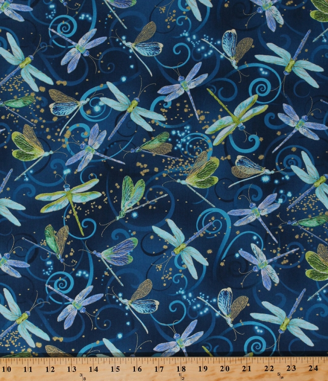 Cotton Dance Of The Dragonfly Dragonflies Insects Magical