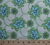 Cotton Flowers Floral Blossoms Daisy Chain Clematis Amy Butler Natural Cotton Fabric Print by the Yard (ab41-natural)