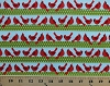 Cotton Cardinals Birds Stripes Polka Dots Festive Christmas Winter Holiday Sweet Tweets Cotton Fabric Print by the Yard (awn-13612-223-holiday)