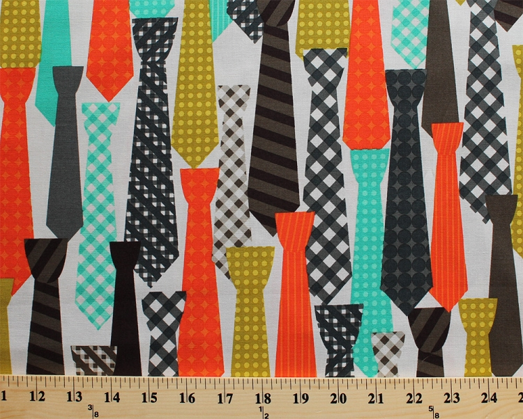 Cotton ties necktie clothing men 39 s fashion apparel for Children s clothing fabric by the yard