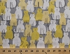 Cotton Cats Kittens White and Yellow Kitties on Gray Pets Animals Feline Here Kitty Kitty Cotton Fabric Print by the Yard (cx6282-ctrn-d)
