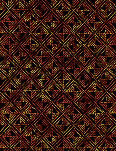 Cotton African Diamond Geometric Africa Tribal Triangle