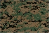 (If you are interested, join our Waiting List: We haven't been able to find more of this fabric, but we constantly checking) United States Marines 50% Nylon 50% Cotton Marine Corp Woodland Green Digital Camouflage Fabric