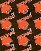 Flannel Cleveland Browns NFL Professional Football Sports Team Flannel Fabric Print by the Yard (6184B-8G)
