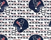 Houston Texans NFL Pro Football Cotton Fabric Print