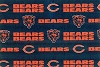 Chicago Bears NFL Pro Football Cotton Fabric Print