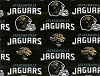 Cotton Jacksonville Jaguars NFL Pro Football Cotton Fabric Print by the Yard