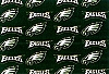 Philadelphia Eagles NFL Pro Football Cotton Fabric Print