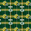 Flannel Green Bay Packers NFL Professional Football Sports Team Flannel Fabric Print (L6427D)