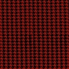 Houndstooth Black/Red Checks Pattern Fleece Fabric Print by the Yard o30477-2b