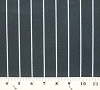 New York Yankees Black Pinstripe Look-a-Like Athletic Jersey Knit Fabric by the Yard (L6939G-4L)