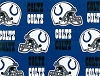 Cotton Indianapolis Colts NFL Pro Football Cotton Fabric Print #s6006df