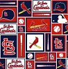 Cotton St Louis Cardinals MLB Baseball Sports Team Cotton Fabric Print by the Yard