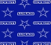 Cuddle Micro Plush Dallas Cowboys NFL Football Fabric