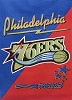 NBA® Cotton Duck Fabric Panel - Philadelphia 76ers Sixers - 30
