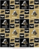 Cotton Purdue University Boilermakers Cotton Fabric Print - spu020s