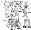 Suitability 3790 Womens Western Show Shirts and Pants Pattern