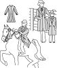Suitability 5172 Misses & Childrens Saddle Suit Coat Pattern
