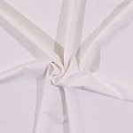 4-Way Stretch Mesh Lining Nylon Spandex White Fabric by the Yard (2212C-3N)