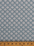 Blue Diagonal Lace Diamond Polyester Fabric by the Yard (7671R-9L)