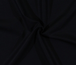 Designer Linen Solid Black Fabric By the Yard (LILS007.BLACK)