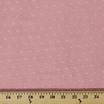 Cotton Swiss Tufted Dot Pink Fabric by the Yard (2119R-2N)