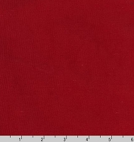 Wovenstretch Corduroy (slight stretch) Red Fabric By the Yard (1308)
