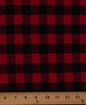 Flannel Buffalo Plaid 3/4