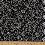 Sequin Netting Stretch Lace Exclusive of Ornamentation Fabric by the Yard (8779F-5M)