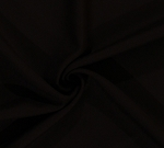 Wool Blend Brown Fabric by the Yard (8688P-5M)