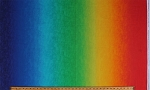 Cotton Rainbow Ombre Stripes Colors Colorful Multi-Colored Cotton Fabric Print by the Yard (RAINBOW-CD5298-MULTI)
