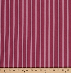 Cotton Verna Mosquera October Skies Pinstripe Stripe Cotton Fabric Print by the Yard PWVM056-WISTERIA