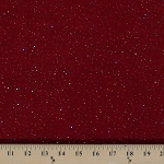 Multi-Metallic Glitter Slinky 4-Way Sparkle Stretch Polyester Lycra Marbled Red Fabric by the Yard (H-3M)