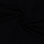Slinky 4-Way Stretch Polyester Lycra Black Fabric by the Yard (4494F-12J)