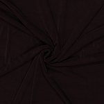 Slinky 4-Way Stretch Polyester Lycra Dark Brown Fabric by the Yard (9994F-7i)