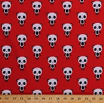 Cotton Urban Zoologie Pandas Cute Panda Bears on Red Cotton Fabric Print by the Yard (aak-16488-3-red)