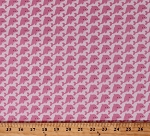 Cotton Dolphins Cute Aquatic Mammals Nautical Ocean School of Dolphins Pink Fish Under the Sea Kids Cotton Fabric Print by the Yard (C5962-PINK)